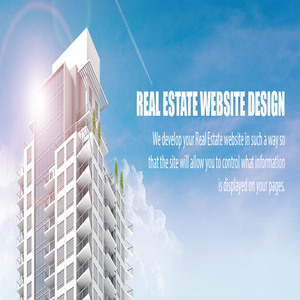 Real Estate Website Design Services In India, USA